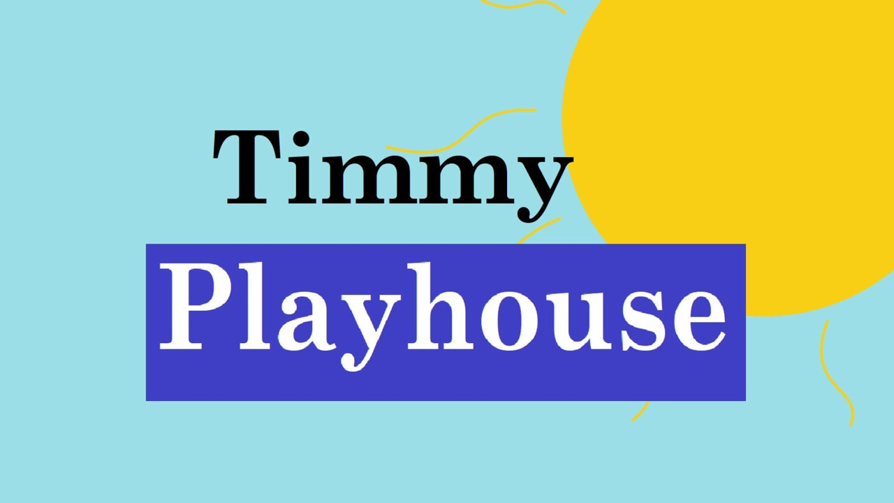 timmy playhouse sony wonder logo parody youtube