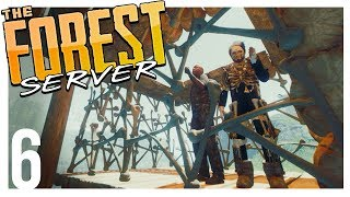 THE BONE PRISON   The Forest Multiplayer Gameplay - Part 6 (Patreon Server)