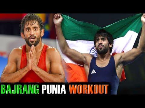 Bajrang Punia WRESTLING WORKOUT - INDIA WRESTLING WORKOUT - Wrestling Training