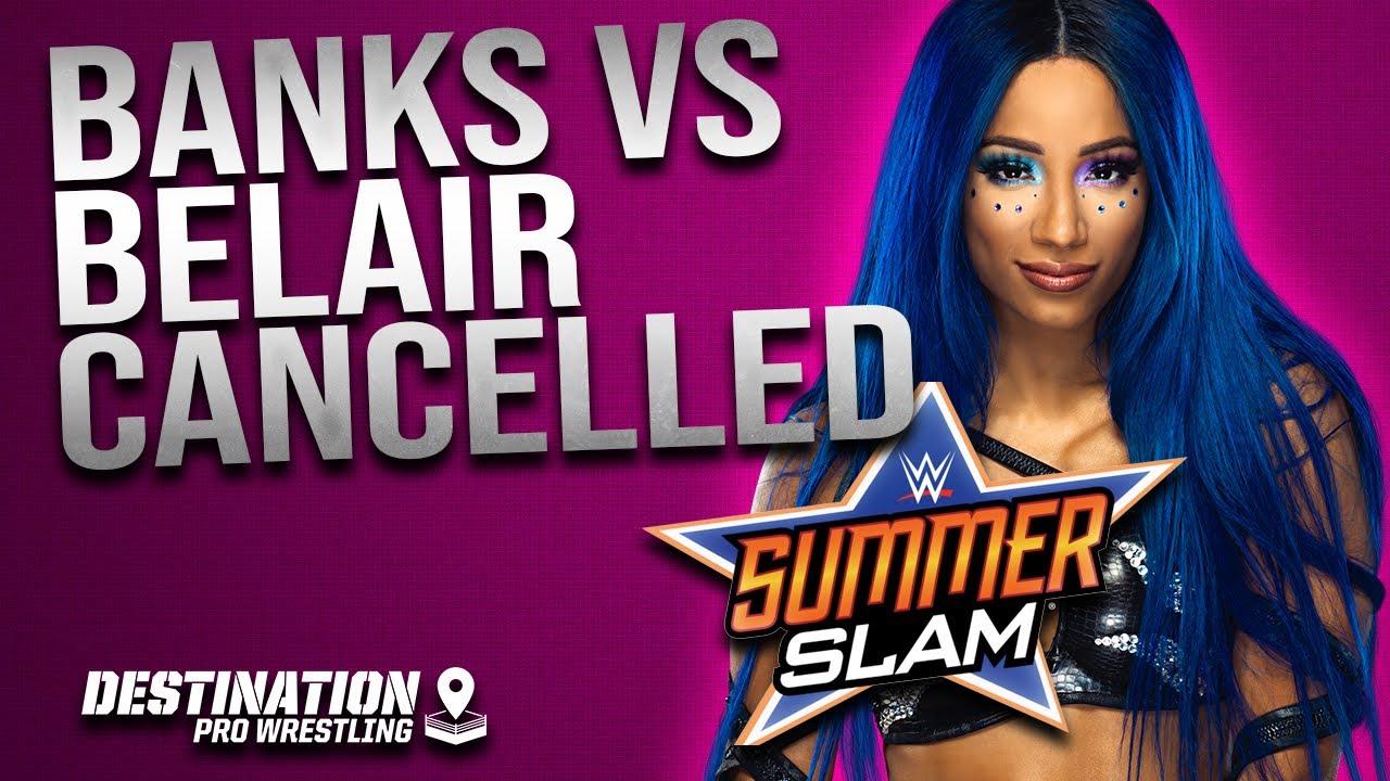 Report: Sasha Banks Out Of WWE SummerSlam Match