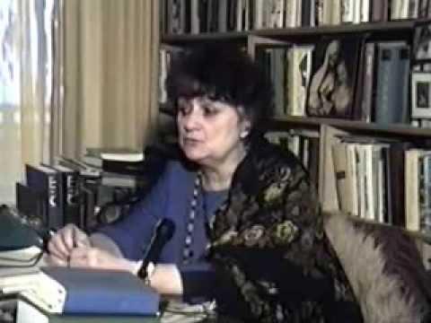 Галина Щербакова - о Галине Щербаковой интервью 1992 года