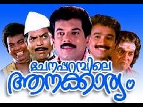 Chenapparambile Aanakkariyam | Mukesh, Kanaga | Comedy Malayalam Movie