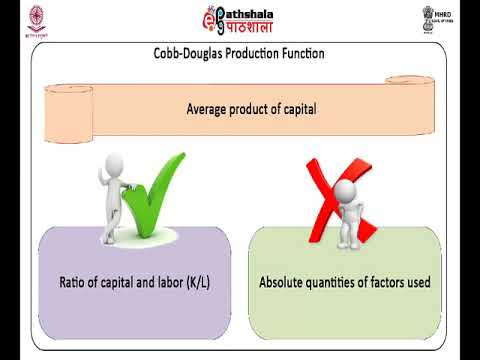 Special Production Functions- Cobb- Douglas, CES , VES , Translog and their Properties