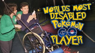 Worlds Most Disabled Pokemon Go Player - (Feat. Idubbbz) - Pokemon Go #5 thumbnail