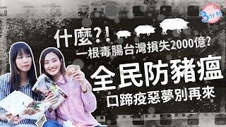 【JOIN三分熟】一起了解豬瘟疫 守護台灣兩千億
