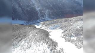Anatomy of an Avalanche - Big, Powerful, Fast - Dry Snow Avalanche