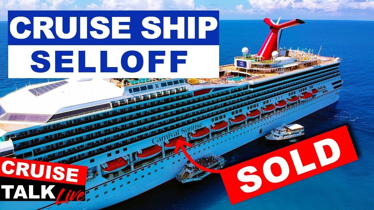 🔴CRUISE TALK LIVE! | Carnival & Royal Selling off Cruise Ships! | Still NO Refunds?