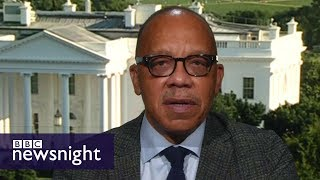 Eugene Robinson on President Trump and the media – BBC Newsnight