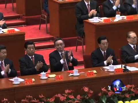 胡锦涛未当选中央委员