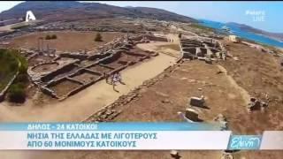 Νησιά της Ελλάδας με λιγότερους από 60 μόνιμους κατοίκους -