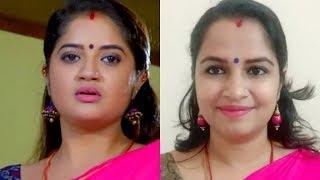 Bhagyajathakam serial actress Shafna inspired makeup look   Malayali youtuber