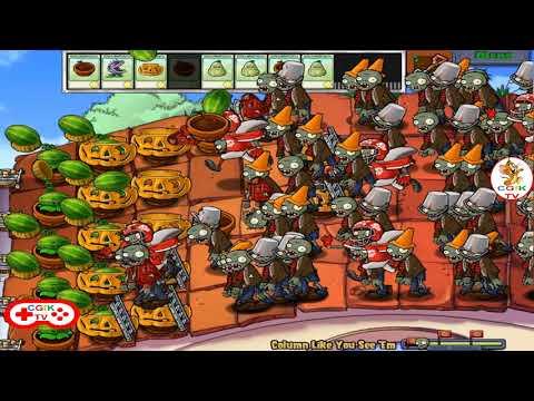 Plants 🌻 vs Zombies 🎃, Mini Games 12 Column Like You See, Cartoon Games for Kids TV