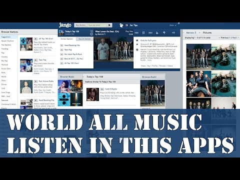 Jango Radio app Review  Listen International any Music In One Music Apps  Jango Radio Station