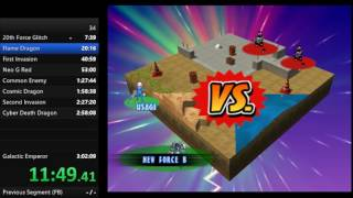 Gotcha Force New Game Speedrun model 2:42:XX