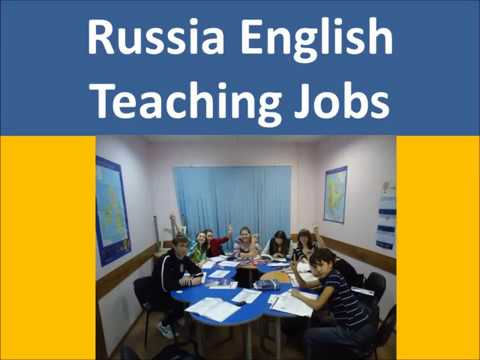 Russia English Teaching Jobs