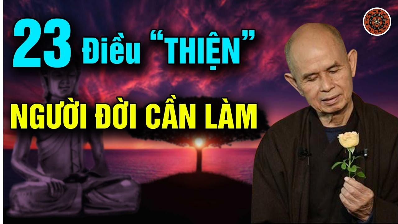"""23 Điều """"THIỆN"""" Nên Làm Trời Phật Sẽ Hộ Trì VẠN SỰ THÀNH CÔNG"""