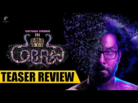 Cobra Movie Teaser Review | Chiyaan Vikram | AR Rahman | Ajay Gnanamuthu