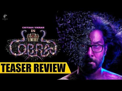 Cobra Movie Teaser Review | Chiyaan Vikram | AR Rahman | Ajay Gnanamuthu