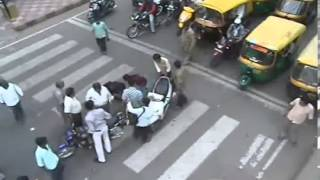 Real road accidents in India