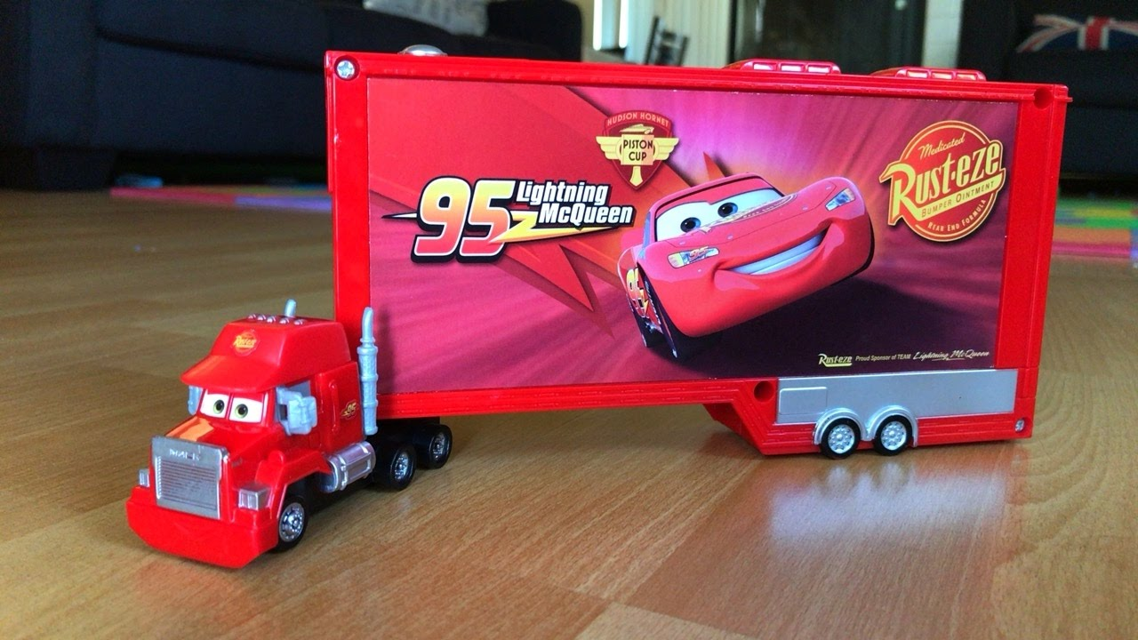 Disney Cars Toy Mack Truck Monster Truck Toys Youtube