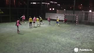 Смотреть видео FOOTBIC.RU. Видеообзор 25.04.2019 (Метро Сокольники). Футбол в Москве онлайн