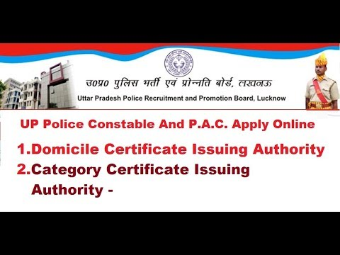 Certificate Issuing Authority Domicile And Category Certifiacte Up