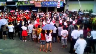 19 Okt 2013: Atraksi teatrikal SMU Lokon, Amurang