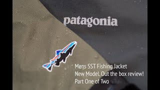 Review of the Patagonia SST Fishing Jacket Part One