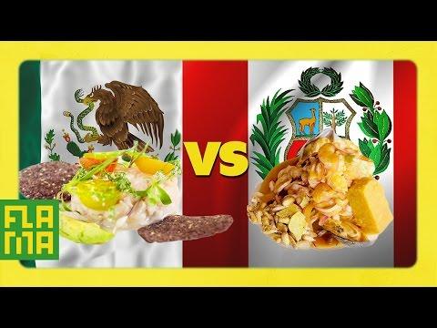 Mexico vs. Peru: Ceviche