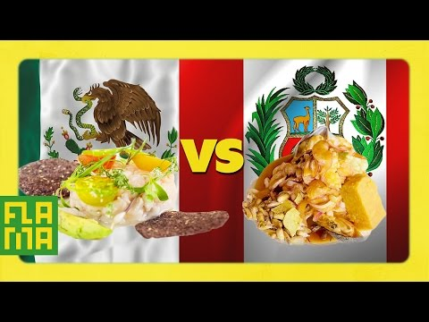 Mexico vs. Peru: Ceviche