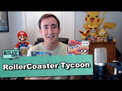 Roller Coaster Tycoon Classic is Great Fun and Education Billy Says!