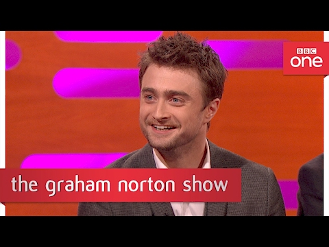 Daniel Radcliffe's new 'time travelling' photo of himself - The Graham Norton Show: 2017 - BBC One