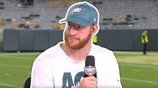 Carson Wentz on Being a Leader