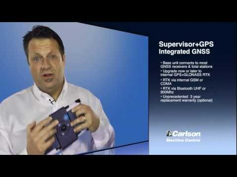 Carlson Software's New Supervisor+GPS Tablet - aka The SuperG