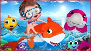 🔴 Baby Shark , Happy Birthday Song , Johny Johny Yes Papa , Wheels on the Bus- Banana Cartoon