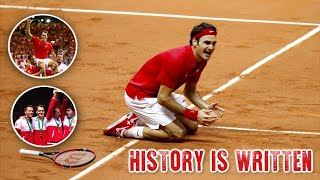 The Day Roger Federer Made History For Switzerland