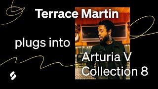Terrace Martin (Kendrick Lamar, Snoop Dogg, Travis Scott) talks his favorite synths & makes a beat