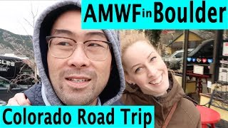 Short road trip from Denver to Boulder Colorado. AMWF wedding anniversary!