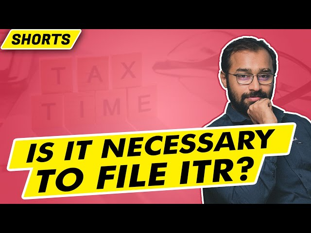 Is it Necessary to File ITR? (last date approaching) + Galaxy Tab Giveaway | #shorts