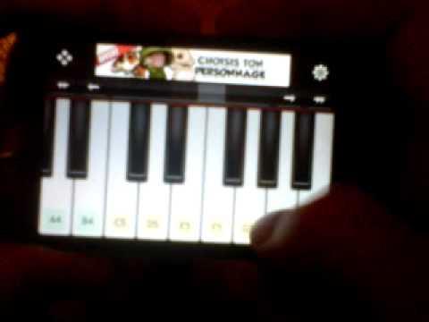 pirates of caribbean iphone piano
