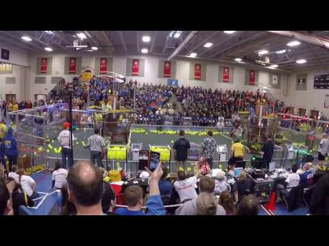 First Robotics Southern New Hampshire District event finals, round 2