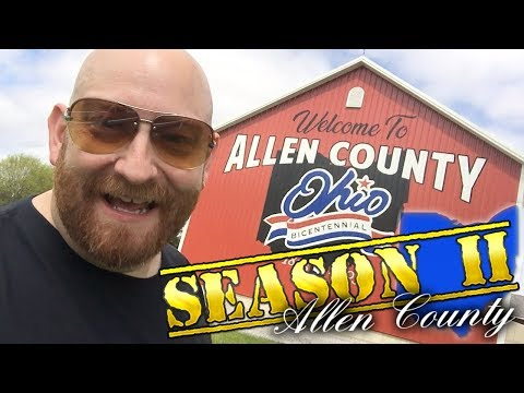 THE BIGGEST ONE YET! Allen County Ohio Bicentennial Barn : Barn Chasing Ep 30