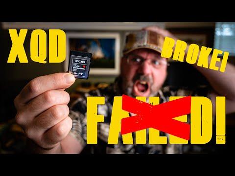 I BROKE My XQD CARD!