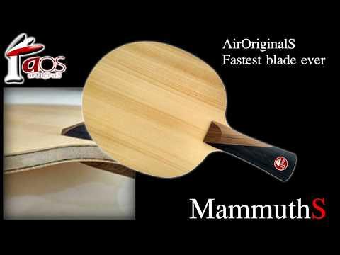 รีวิวไม้ปิงปอง AirOriginalS รุ่น MammuthS Ft. แต๊ก นครปฐม