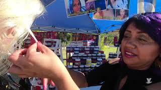 Realiza Lic. Marina Calderón el corte de listón de Bazar Navideño en Tecate