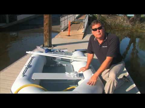 How To Assemble An Inflatable Boat Youtube