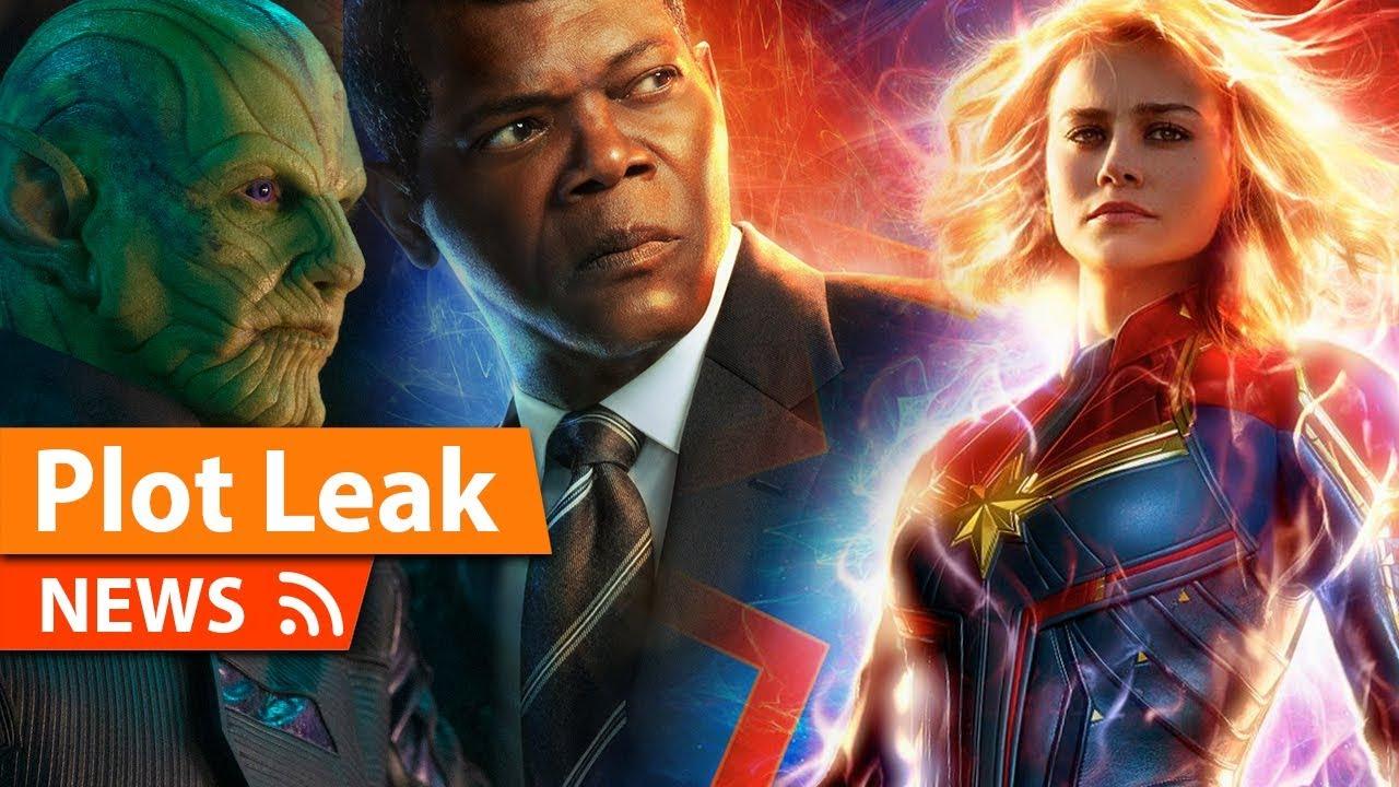 captain marvel entire plot leak & breakdown - youtube