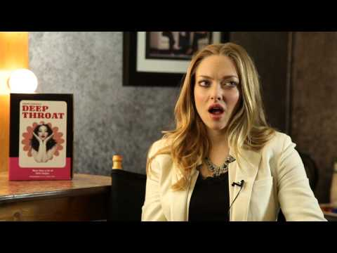 Lovelace -- interview with Amanda Seyfried