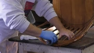 How to Remove a Sticky Oil Finish on Wood : Wood Furniture