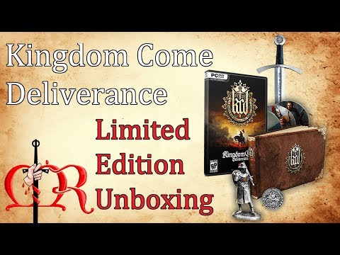 Kingdom Come Deliverance Limited Edition Unboxing -  Part 1: The Game
